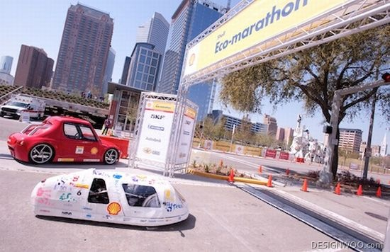 Student-Built Fuel-Efficient Car Rules Shell Eco-Marathon With 2475.5 MPG