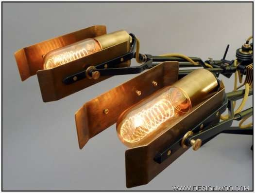 Machine Light Designed by Frank Buchwald Germany