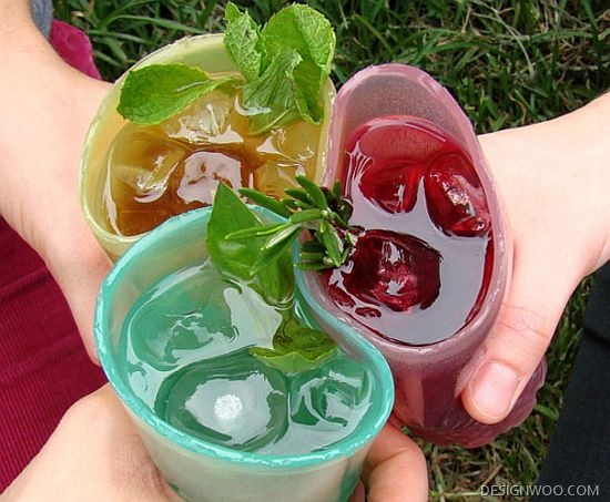 Jell-O Edible Glasses Aim To Reduce Plastic And Paper Waste