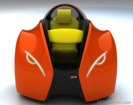 '2028 One' by Sergio Luna Michelin Challenge Design 2010