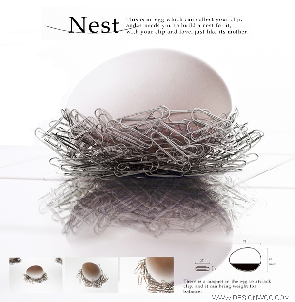 Nest-Magnetic Clips Collector Design