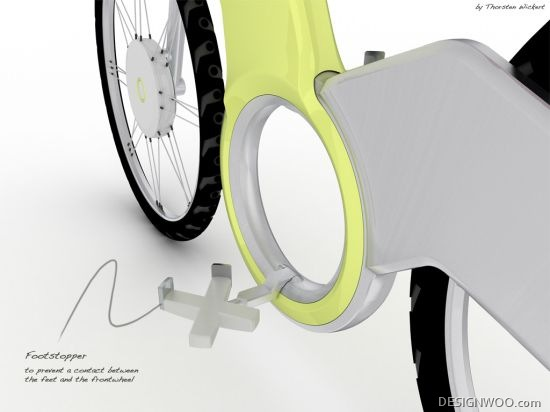 Electric Folding Bike Concept Uses The Pedals Only To Charge The Onboard Battery