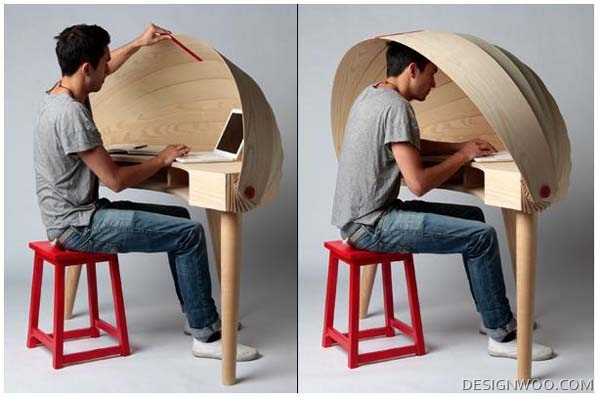 Duplex Workspace Desk By Sophie Kirkpatrick