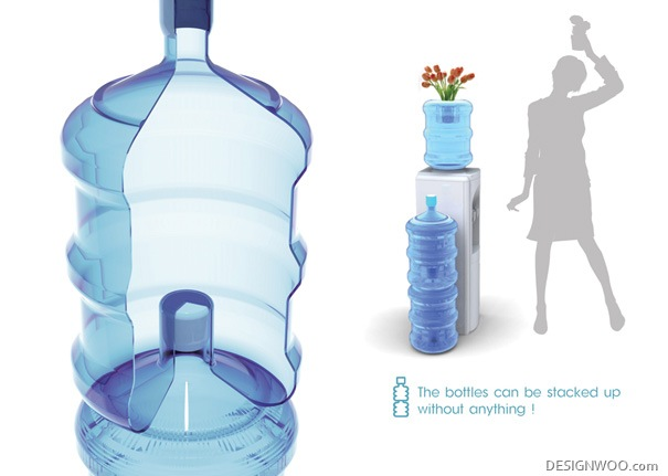 Stackable Bottle Design
