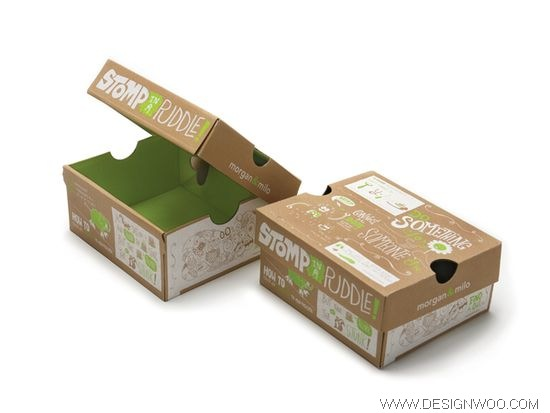 Morgan & Milo Shoeboxes Package Design