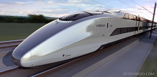 The Mercury Train Concept Might Be Your Favorite Train Yet