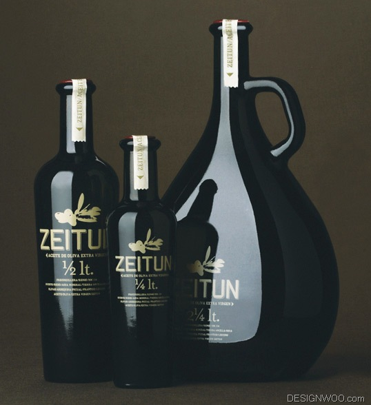 Zeitun Olive Oil Package Design