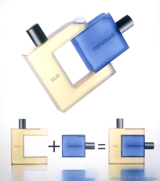 Issey Miyake – For Him 2 in 1 Package Design