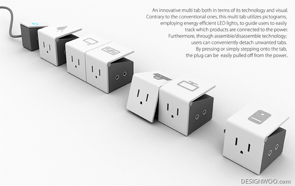 Tab The Power Strip