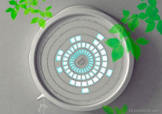 Green Ring Concept Monitors Indoor Air Quality And Purifies It