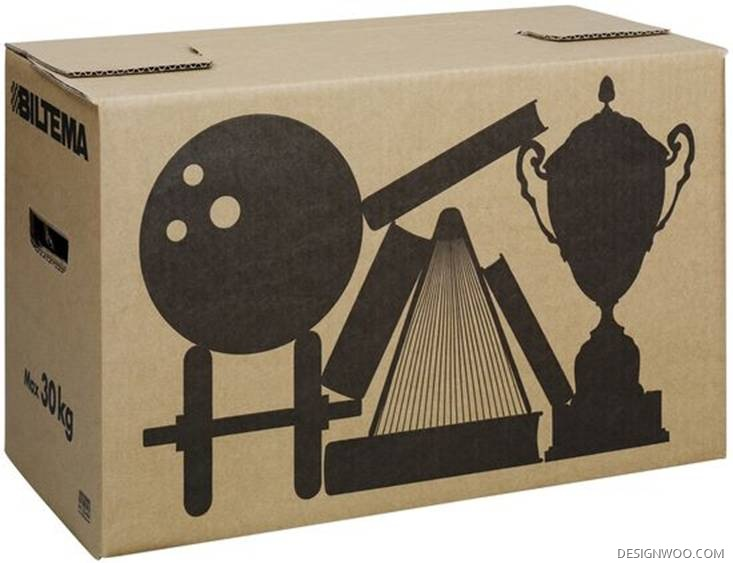 Biltema Moving Boxes Designed By Emanuel Sendel