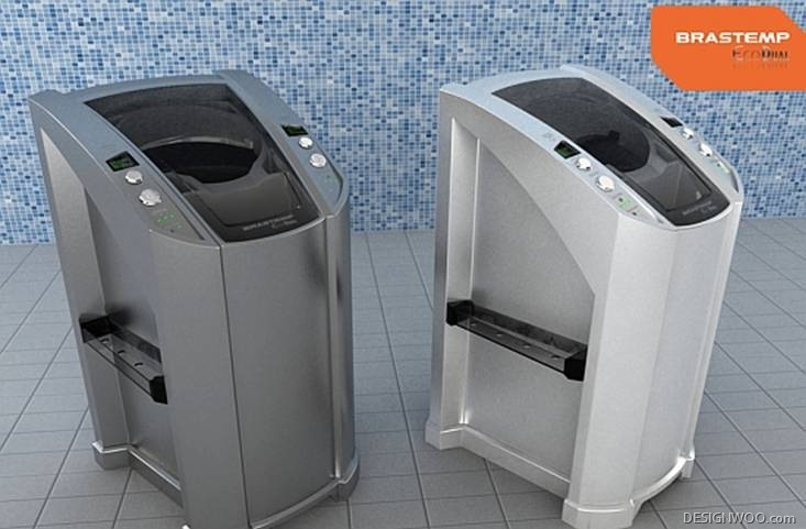 10 Concept Washing Machines That Will Make Your Laundry Room Green