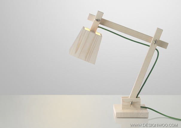 Simple Light Design, All Wood