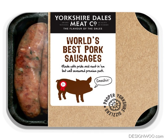 yorkshire dales meat co. package design