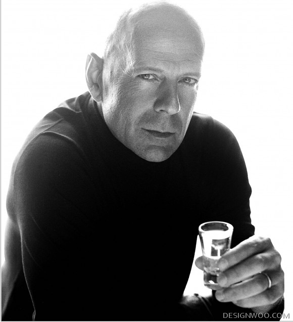 My Sobieski With Bruce Willis