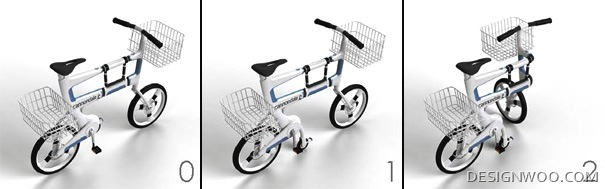 How To Fold A Bike Into A Cart-Foldbike Design