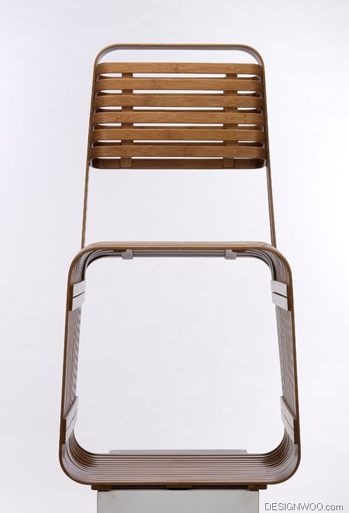 Bamboo Chair by Jun Zi