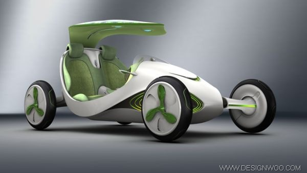 YeZ concept car to inhale CO2 and exhale oxygen into the atmosphere