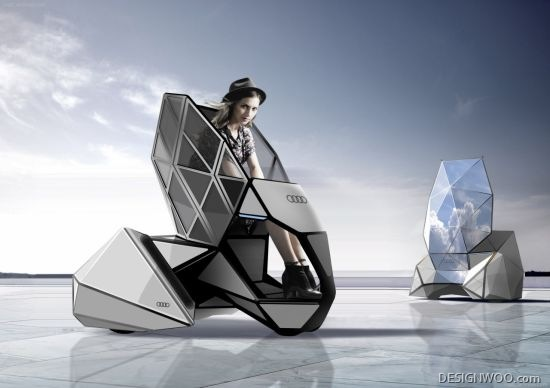 Audi E/0 All-Electric Concept Vehicle For Fashionable Women Of The Future