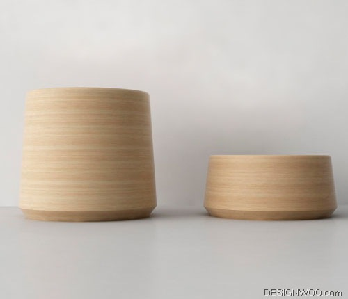 Jar Lamps by Noon Studio