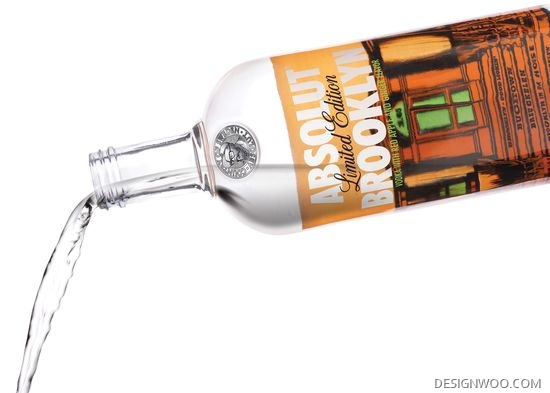 Absolut Brooklyn Limited Edition Bottle&Packaging Design