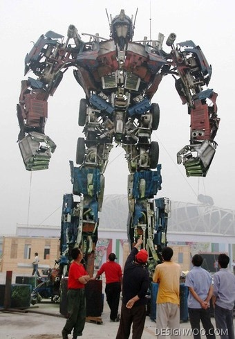Is Optimus Prime A Chinese?