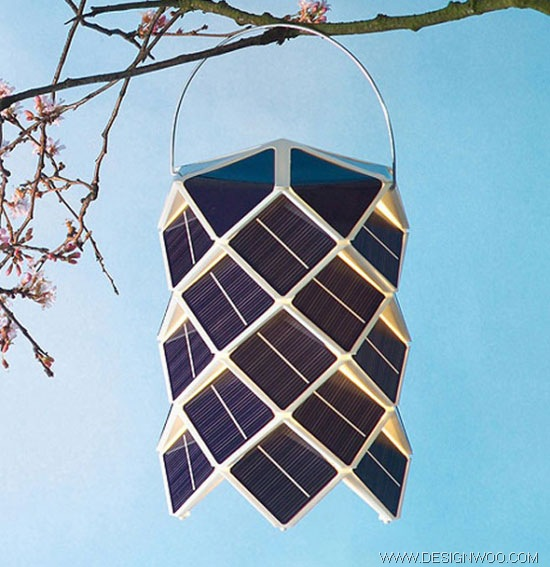 Solar Lamp Design by Damian O'Sullivan