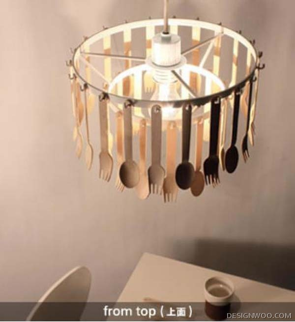 Unique Hanging Lamp Design Called GITA
