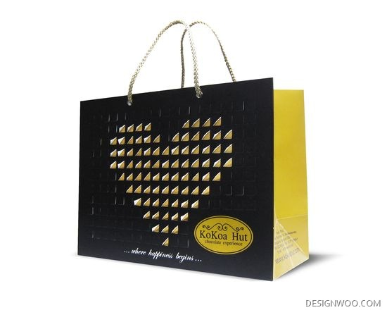 Kokoa Hut Shopping Bag Design