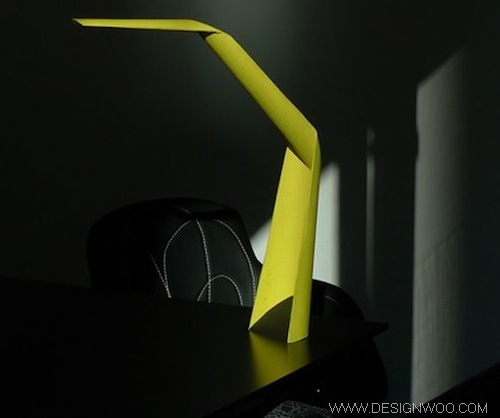 "At Milan Design Week 2010 : ""W101"" Task Light"