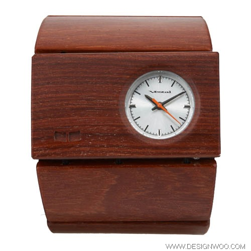 Vestal Rosewood Watch Design
